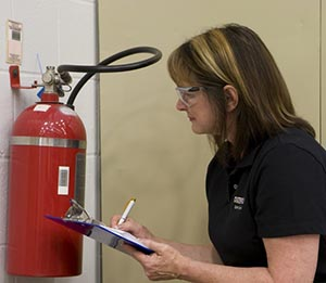Fire Extinguisher, Healthy Worksite - Cleveland Brothers