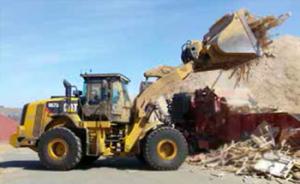 Spring Valley Mulch - Loading Pallets