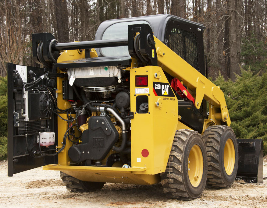 New Cat® 232D Series Skid Steer Features & Specifications