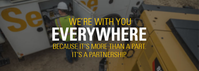 More than just parts. We're a Partnership to your success.