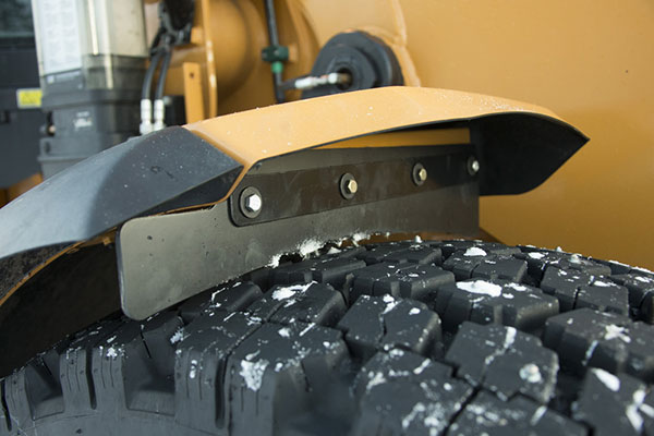 Winterizing Construction Equipment - Tire Inspection