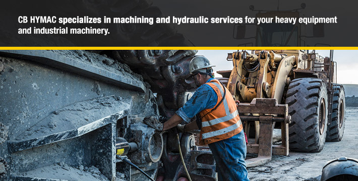 CB HYMAC specializes in machining and hydraulic services for your heavy equipment and industrial machinery.