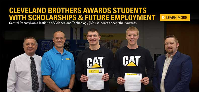 2018 - Cleveland Brothers Awards CPI Students with Scholarships