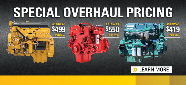 2019 Truck Engine Overhaul Pricing