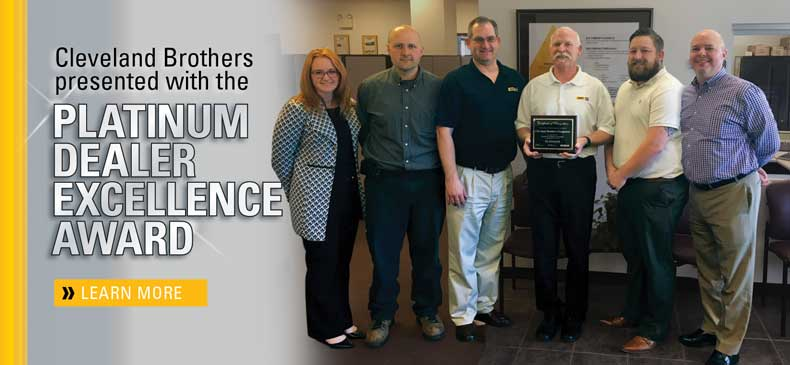 Awarded Platinum for Service | Cleveland Brothers Power Systems