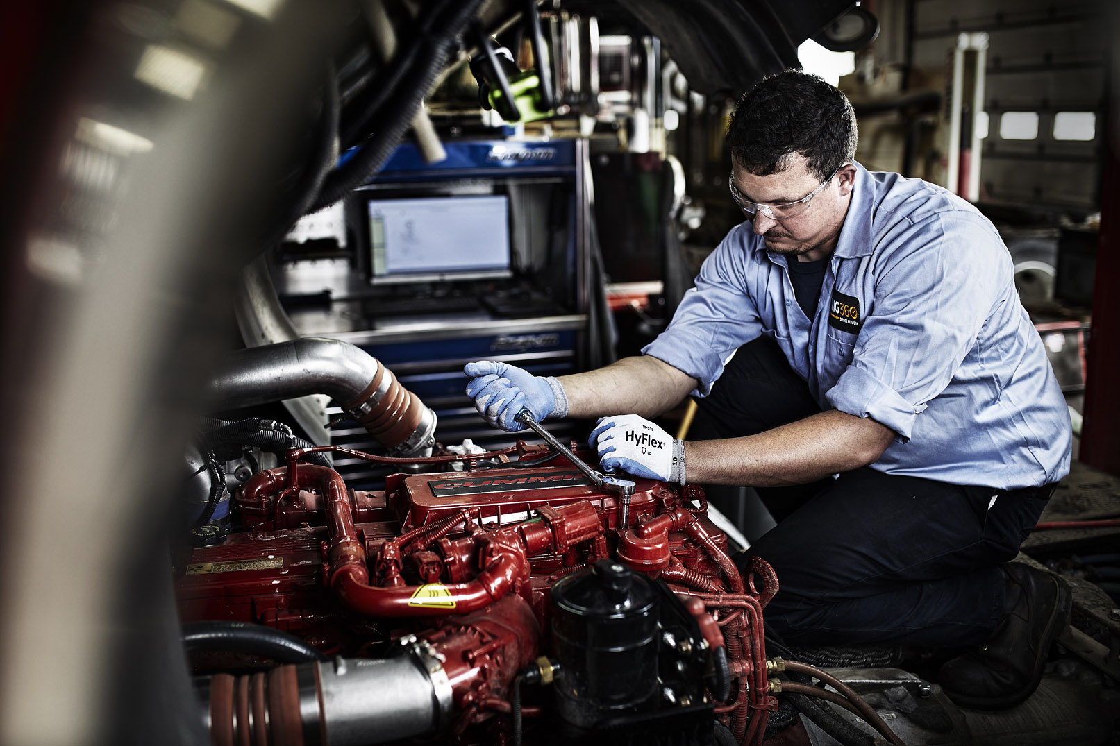 Rig360 Cleveland Brothers experienced service technicians