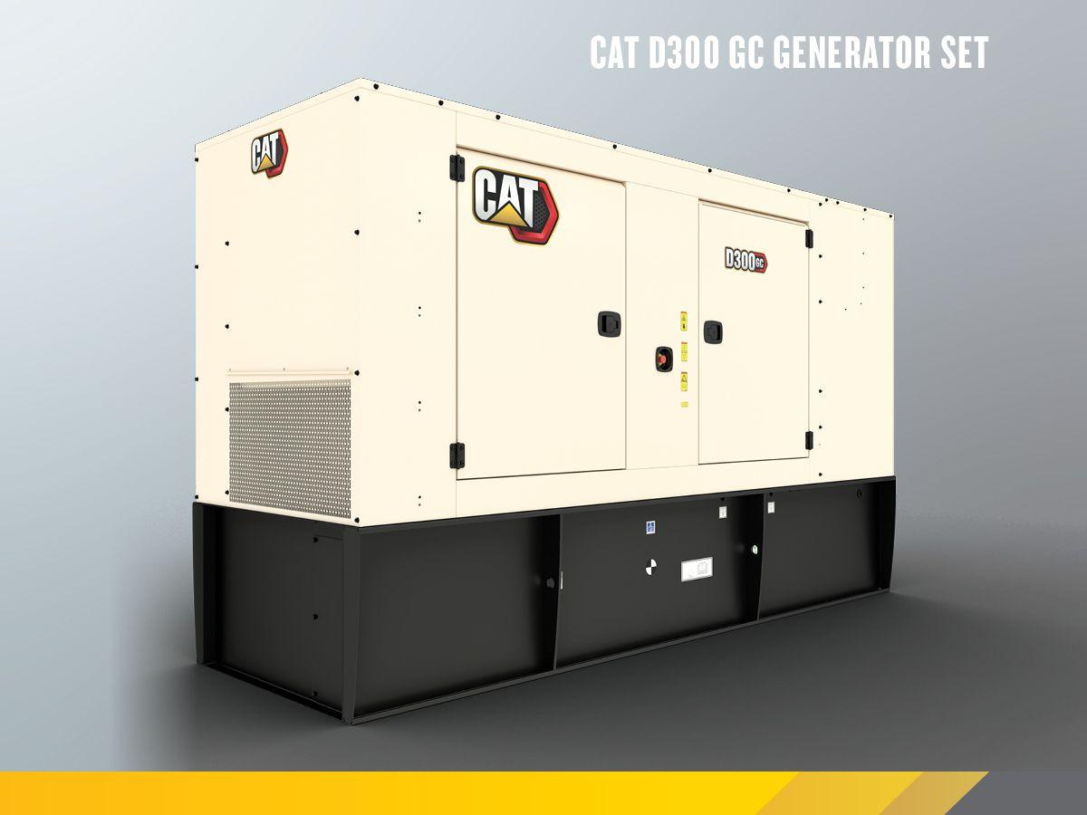 Cat D300 diesel genset