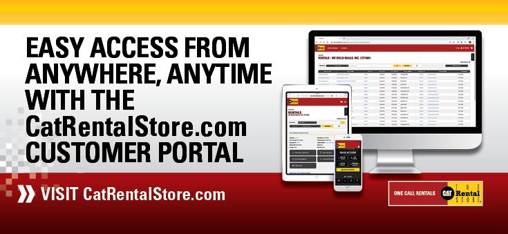 CatRentalStore.com Customer Portal