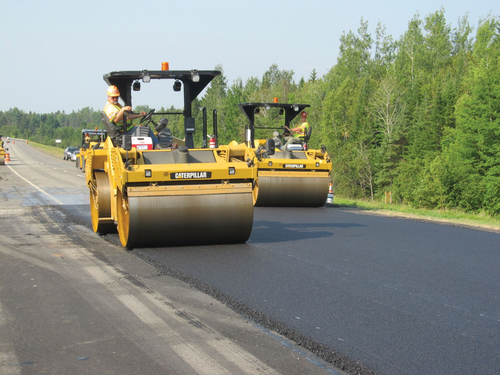 paving project