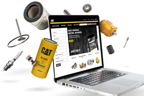 Parts.Cat.Com Interface