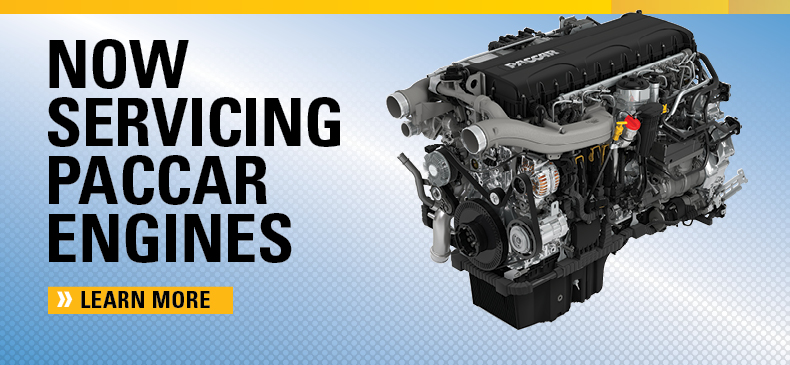 Servicing PACCAR engines