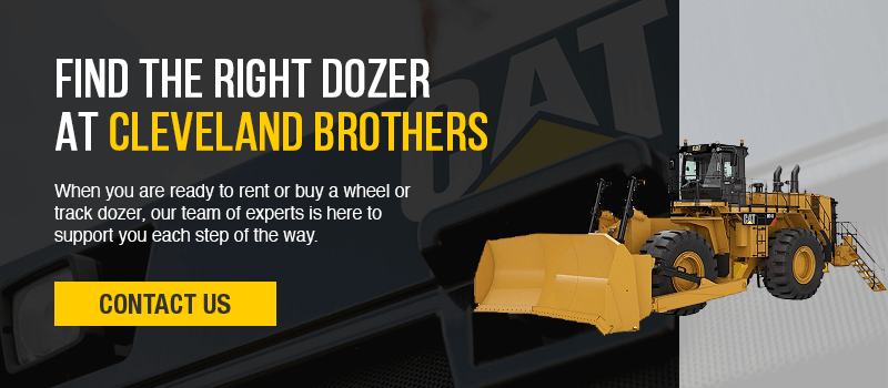 wheel dozer