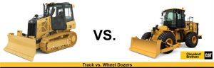 wheel vs. track dozers