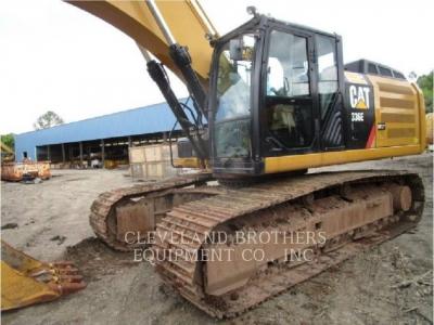 Used 2013 Caterpillar 336EL Excavator With 6329 Hours