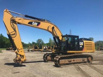 Used 2014 Caterpillar 336EL Excavator With 4732 Hours