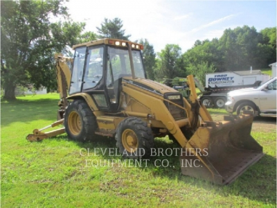 Used 1998 Caterpillar 416C Backhoe Loader with 5905 Hours