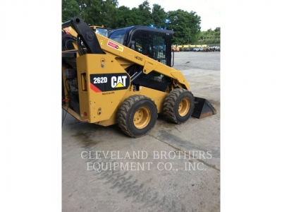 Used 2015 Caterpillar 262D Skid Steer Loader with 1485 Hours