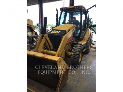 Used 2012 Caterpillar 420FST Backhoe Loader with 737 Hours