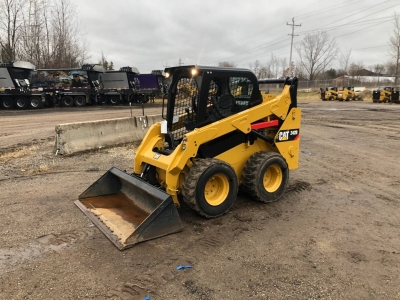 Used 2016 Caterpillar 242D Skid Steer Loader with 486 Hours