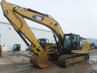 Used 2013 Caterpillar 336EL Excavator With 5336 Hours