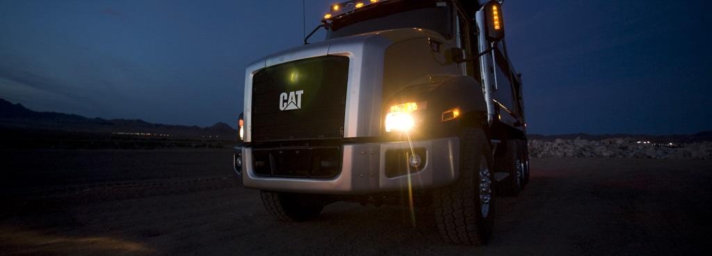 Cat Tractor Trailer Truck